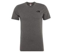 T-Shirt 'Simple Dom' graumeliert