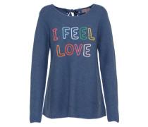Pullover 'Thea' blau / mischfarben