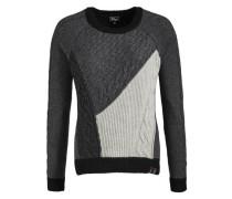 Pullover Majin grau / schwarz / weiß