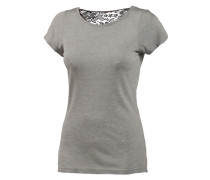 Shirt T-Shirt Damen grau