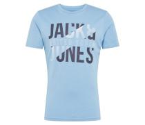 Shirt 'Koral' blau
