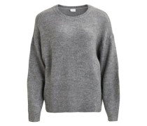 Oversize Pullover 'vidisa' grau