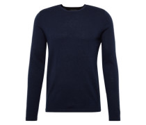 Pullover 'crew neck raglan 100Wv' blau