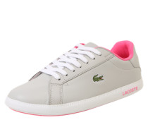 Sneaker 'graduate' grau / pink