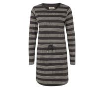 Jerseykleid 'Dalston' schwarz / weiß