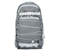 Backpack 'Ice Louis' Rucksack 50 cm grau / naturweiß