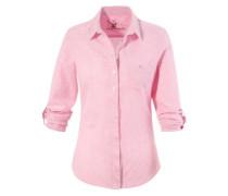 Trachtenbluse Damen kariert rosa