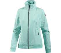 Softshelljacke 'Liisi' mint