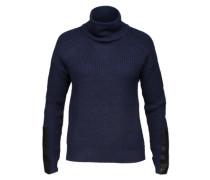Strickpullover mit Wolle 'Vikaluan' blau