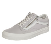 Sneaker 'Old Skool Zip' hellgrau
