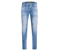 Glenn Org JOS 588 Slim Fit Jeans blau