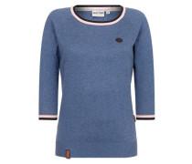 Pullover 'Gespreizt wie Gereizt' blau
