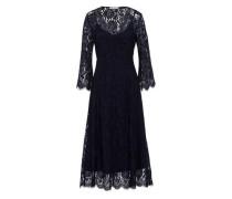 Midi Kleid nachtblau
