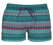 Shorts türkis / petrol / pink