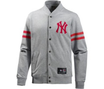 Athletic New York Yankees Collegejacke grau / rot