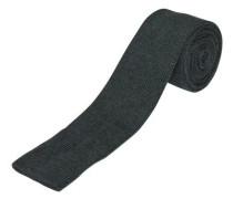 Seiden Krawatte dunkelgrau