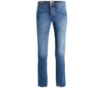Slim Fit Jeans 'tim Original AM 420' blau