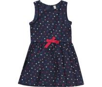 Kinder Jerseykleid blau / rot