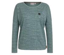 Female Sweatshirt 'Zeich ma Titten IV' smaragd