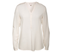 Tunika aus Viskose 'Sleek' weiß