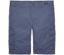 Kurze Hose »John CRG Short Light Twill« blau