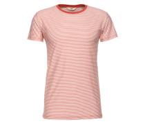T-Shirt 'SS Stripe Tee' rot