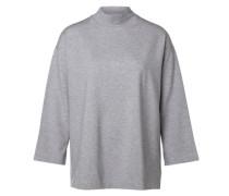Sweatshirt High-Neck- grau