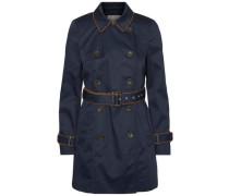 Langärmeliger Trenchcoat blau