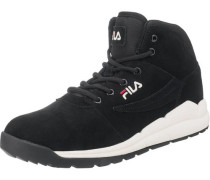 Boulder Sneakers rot / schwarz / weiß