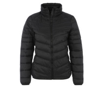 Jacke im Daunenjacken-Look schwarz