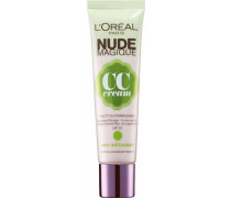 'Nude Magique CC Cream' Anti-Rötungen Hautton-Korrigierer beige / hellgrün / helllila