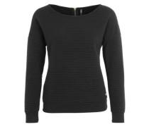Sweater 'ONLNew Vivid Jacquard' schwarz