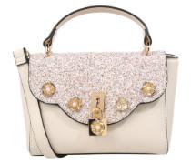 Handtasche 'Badesse' beige / gold