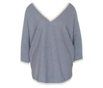 Pullover mit Halbarm hellblau
