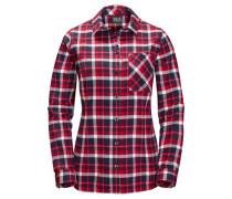 Karobluse »Banff Park Shirt« rot