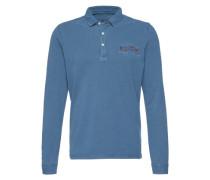 Poloshirt 'Esine Ess' blau
