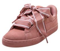 Sneaker Low 'Heart Satin II' koralle