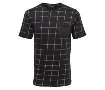 Kurzärmeliges T-Shirt schwarz