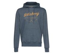 Sweatshirt 'Halfway Ho' blau