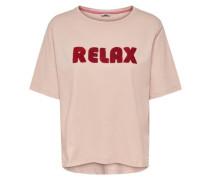 T-Shirt Print altrosa