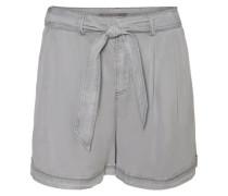 Shorts Lyocell grau