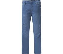 Jeans taubenblau