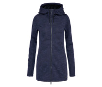 Fleece Jacke navy