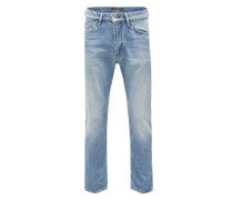 Regular-Fit Jeans 'Deep' blue denim