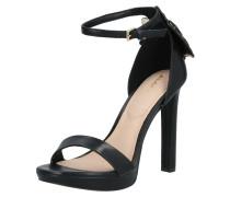 Sandalette 'valentini' schwarz