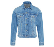 Jacke 'Pinner' blue denim