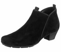 -Ankle-Boots schwarz