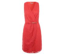 Kleid 'Lace Wrap' koralle