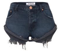 Jeansshort 'Bandits' dunkelblau