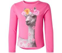 Langarmshirt Hialeah pink